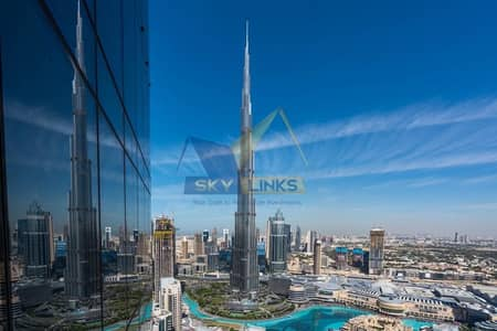 5 Bedroom Penthouse for Rent in Downtown Dubai, Dubai - Burj Khalifa and Fountain view 5 Bedroom+Maid Penthouse