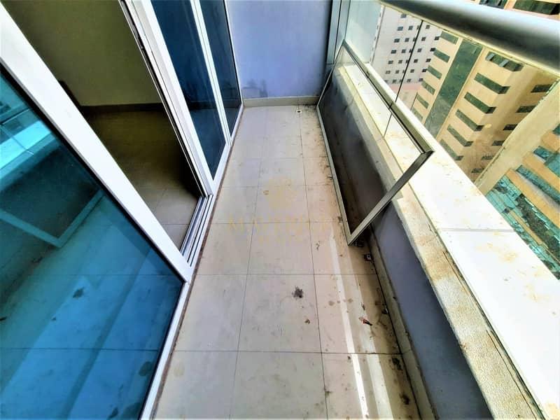 10 Bright 1BHK+Balcony | Gym+Pool | 6 Cheques