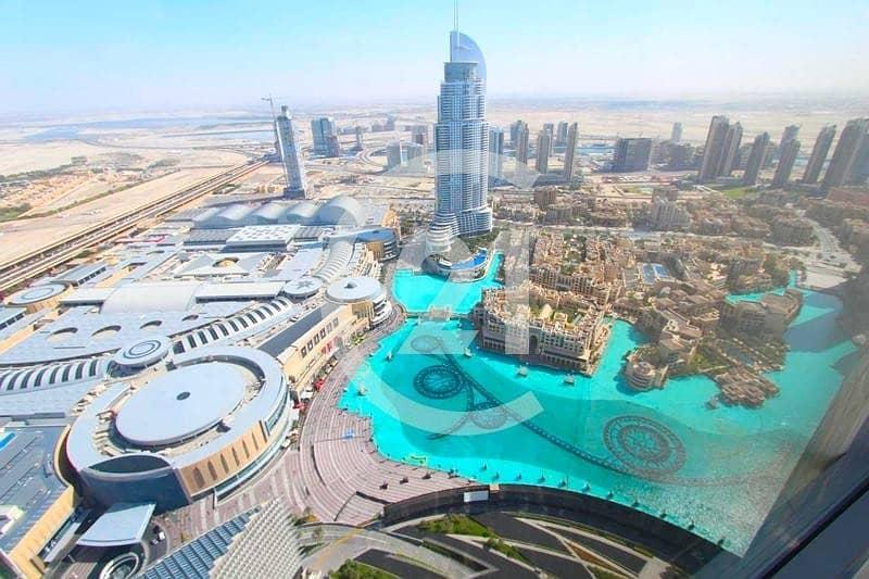 2 Luxurious 2 Bedroom apartment | Above 50th floor I Burj Khalifa I  for rent