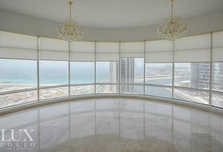 فلیٹ 4 غرف نوم للبيع في دبي مارينا، دبي - Sea and Marina Views | Vacant | Maid's Room