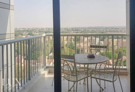 1 Bedroom Apartment for Rent in Dubai Sports City, Dubai - Fully Furnished | 2 Balcony | Nice Views