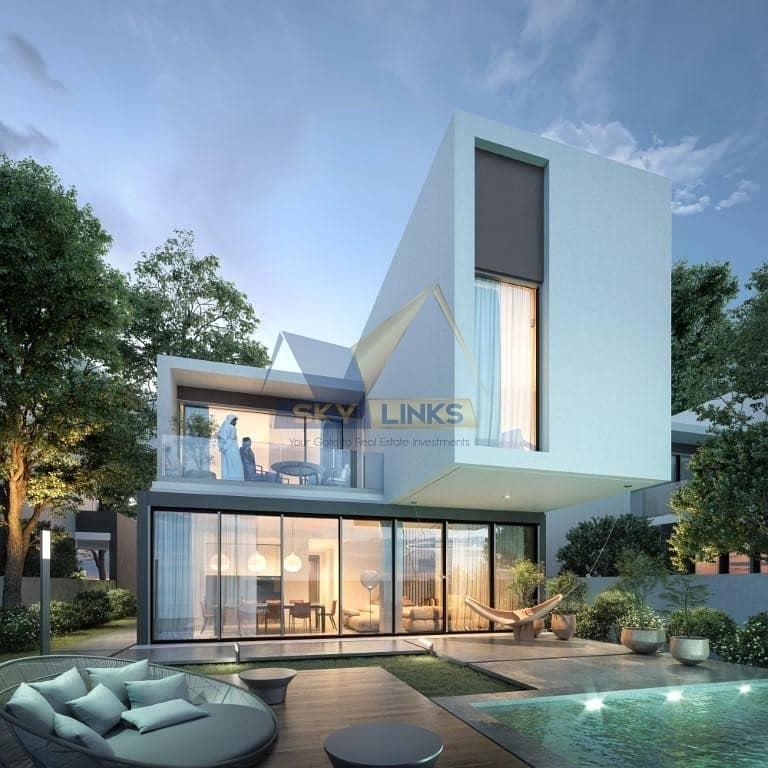 2 High Quality   4BR Villa for sale in Aljada