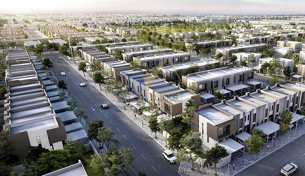 10 High Quality   4BR Villa for sale in Aljada