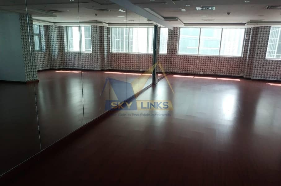 High Floor Amazing View  Fully Fitted office For rent