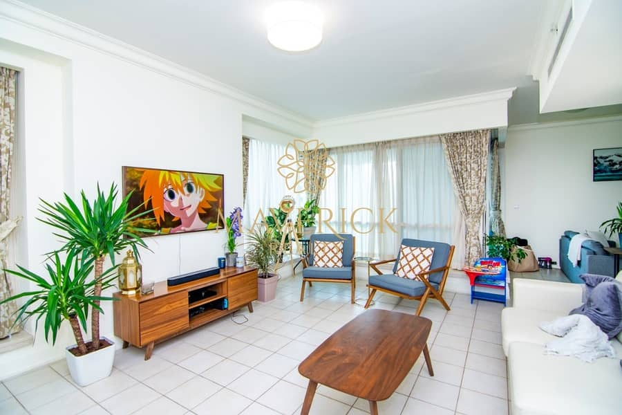 2 Upgraded 3Bed | Marina View | High Floor