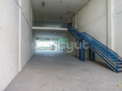 Warehouse for Rent in Al Quoz, Dubai - Vacant G+M WH I Facing Road I  w/ 2 Mos. Free