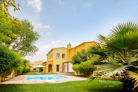 فیلا 4 غرف نوم للبيع في المرابع العربية، دبي - Lake View | 4 Bedrooms plus Maids | A Type