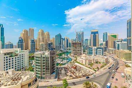 شقة 3 غرف نوم للبيع في دبي مارينا، دبي - 3 Beds | Marina View | Unfurnished | SALE | 1.19M