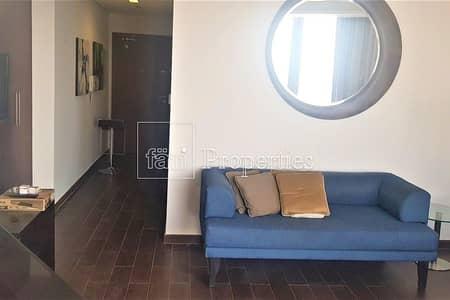استوديو  للايجار في مدينة دبي الرياضية، دبي - Furnished studio | L shaped Balcony