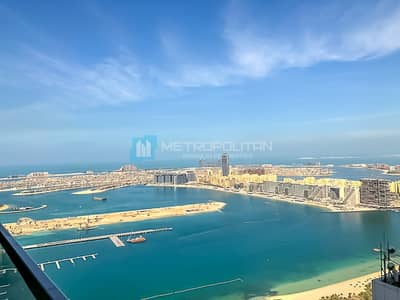 1 Bedroom Flat for Sale in Dubai Marina, Dubai - Cozy and bright 1Bed   Partial Sea and Palm View