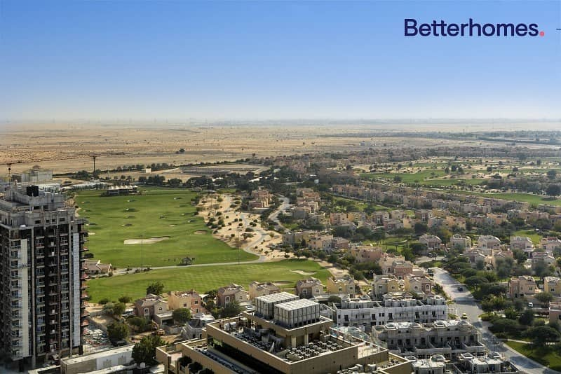 11 Golf Course View | Furnished | Balcony