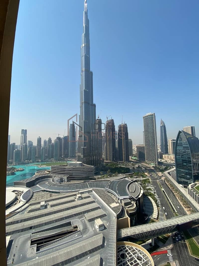 18 High Floor| Dubai Mall access | Amazing studio
