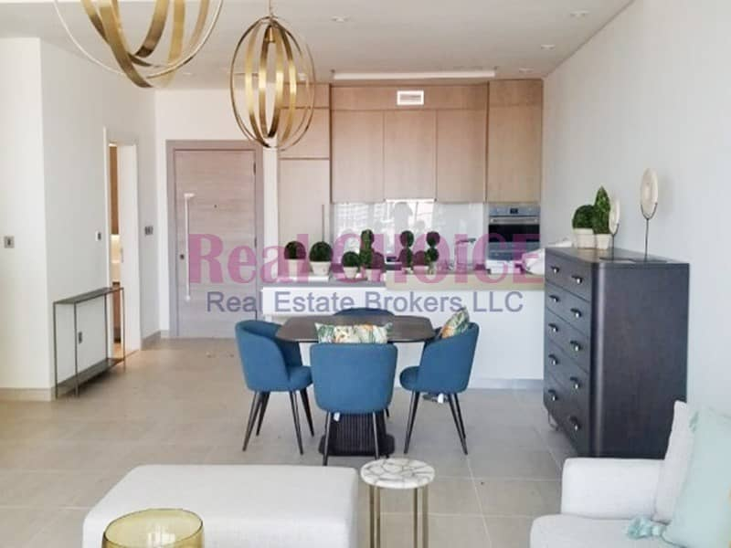 1 Amazing 2BR|Sea View|Prime Palm View| Brand New