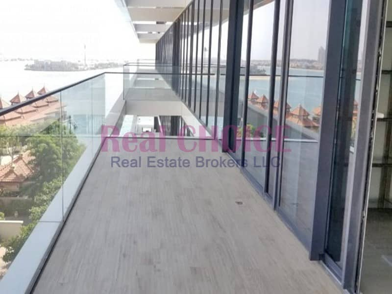 2 Amazing 2BR|Sea View|Prime Palm View| Brand New