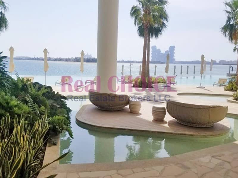 10 Amazing 2BR|Sea View|Prime Palm View| Brand New