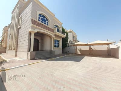 5 Bedroom Villa for Rent in Khalifa City A, Abu Dhabi - Independent Villa!! Alluring 5BR+Maid I Terrace & Yard I Shaded Parking I Move-in Ready