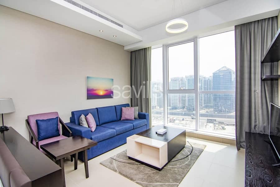 Fully Furnished and Serviced Studio in Corniche