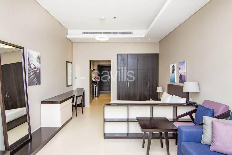2 Fully Furnished and Serviced Studio in Corniche