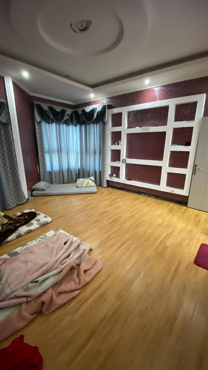 A supper deluxe , spacious and well decorated furnished 3 Bhk apartment for sale in Alkhor Towers