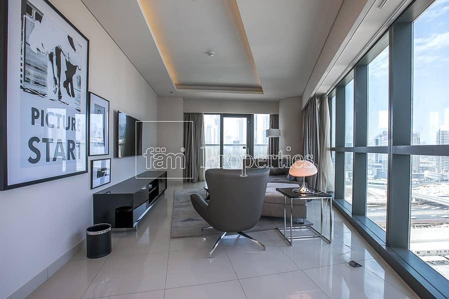 2 2BR Spacious Apartment | 3 Chqs