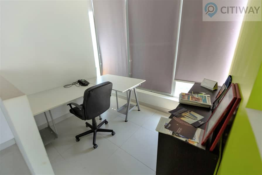 15 Fully Furnished | Office | Close to the Metro
