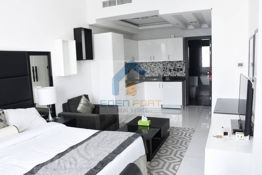 Multiple Cheques | Fully Furnished | studio Flat