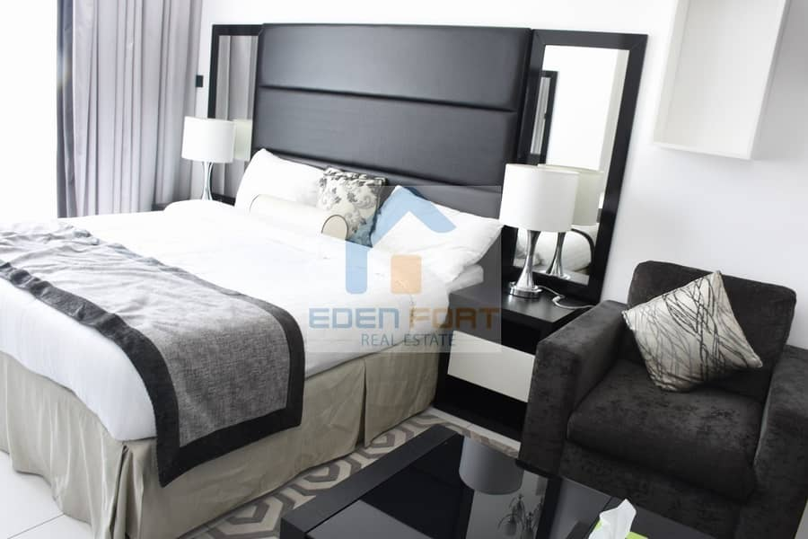 2 Multiple Cheques | Fully Furnished | studio Flat