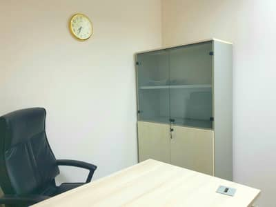 Office for Rent in Al Najda Street, Abu Dhabi - READY TO USE I Excellent Location I Inside City