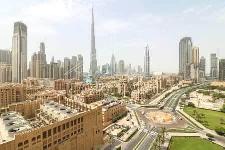 شقة 3 غرف نوم للايجار في وسط مدينة دبي، دبي - Full Burj Khalifa View Upgraded Large 3BR