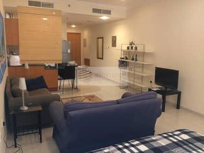 Studio for Rent in Dubai Silicon Oasis, Dubai - Large Studio | | Fully Furnished  | | Chiller Free