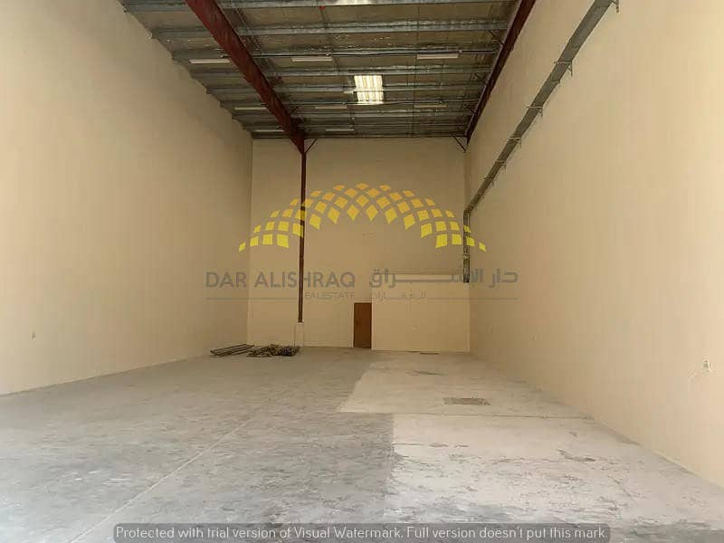 WAREHOUSE FOR STORAGE AT PRIME LOCATION In Sharjah Industrial Area 18