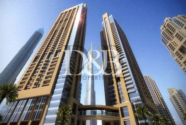 2 A Perfect Location | Full Fountain And Burj View