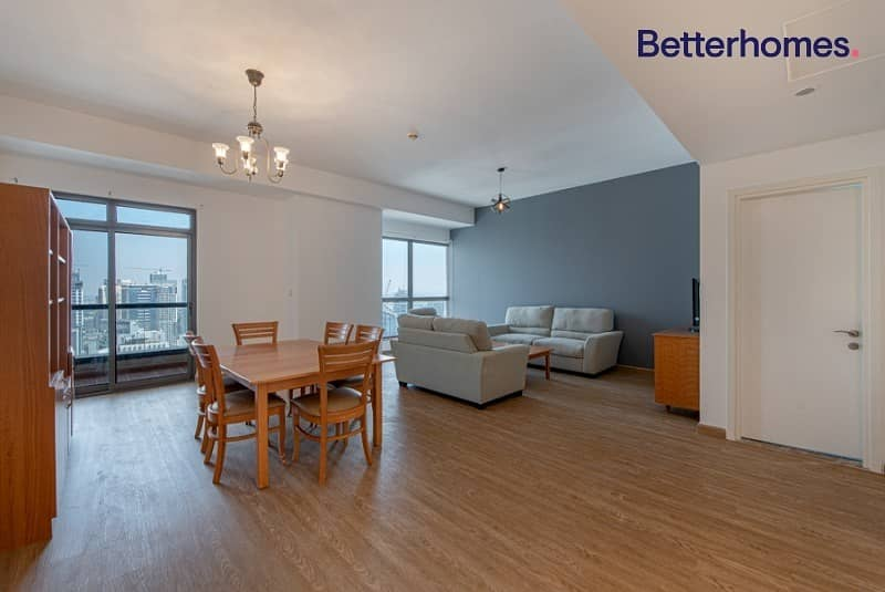 2 Totally Upgraded|High Floor|Marina View