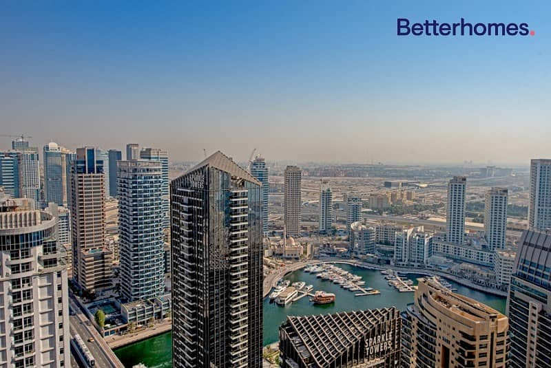 13 Totally Upgraded|High Floor|Marina View