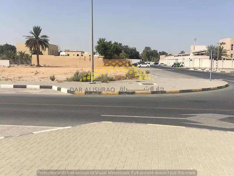 Corner, residential land , For Sale , Halwan Suburb – Al AAbar Sharjah