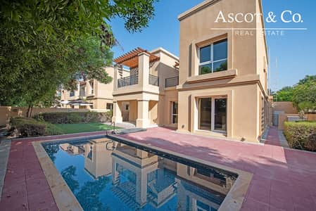 4 Bedroom Villa for Rent in Emirates Golf Club, Dubai - Luxury Area  | Great Benefits| City View