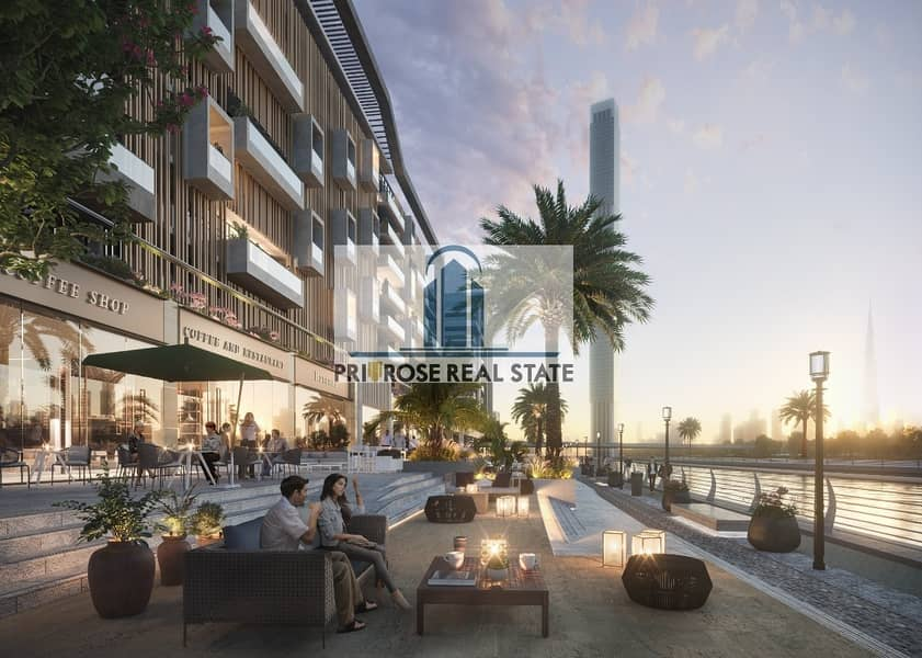2  5 YR Rent Contracts @ 14% | Almost Ready | Multiple Options | Canal & Boulevard Shops