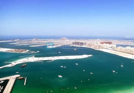 شقة 1 غرفة نوم للبيع في دبي مارينا، دبي - Unique layout 1BR with full glass walls | Sea view