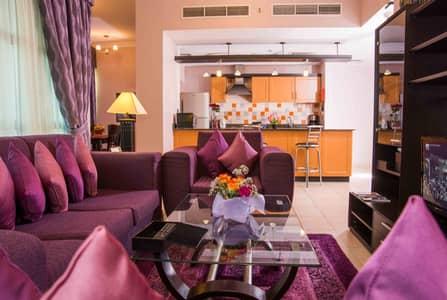 2 Bedroom Apartment for Rent in Al Barsha, Dubai - Direct from Owner NO Commission! Up to 12 cheques! Two Bedroom Fully Furnished Apartments in Al Barsha 1, Pearl Coast Premier Apartments