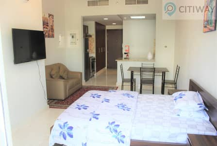 Studio for Rent in Business Bay, Dubai - Fully Furnished Studio | with Balcony | Business bay