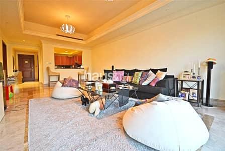 شقة 1 غرفة نوم للايجار في نخلة جميرا، دبي - High floor | Kitchen appliances | Mid December