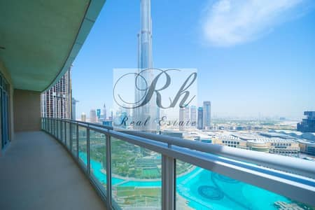 3 Bedroom Penthouse for Rent in Downtown Dubai, Dubai - Amazing and Beautiful Penthouse Overlooking to Burj Khalifa and Foundtain