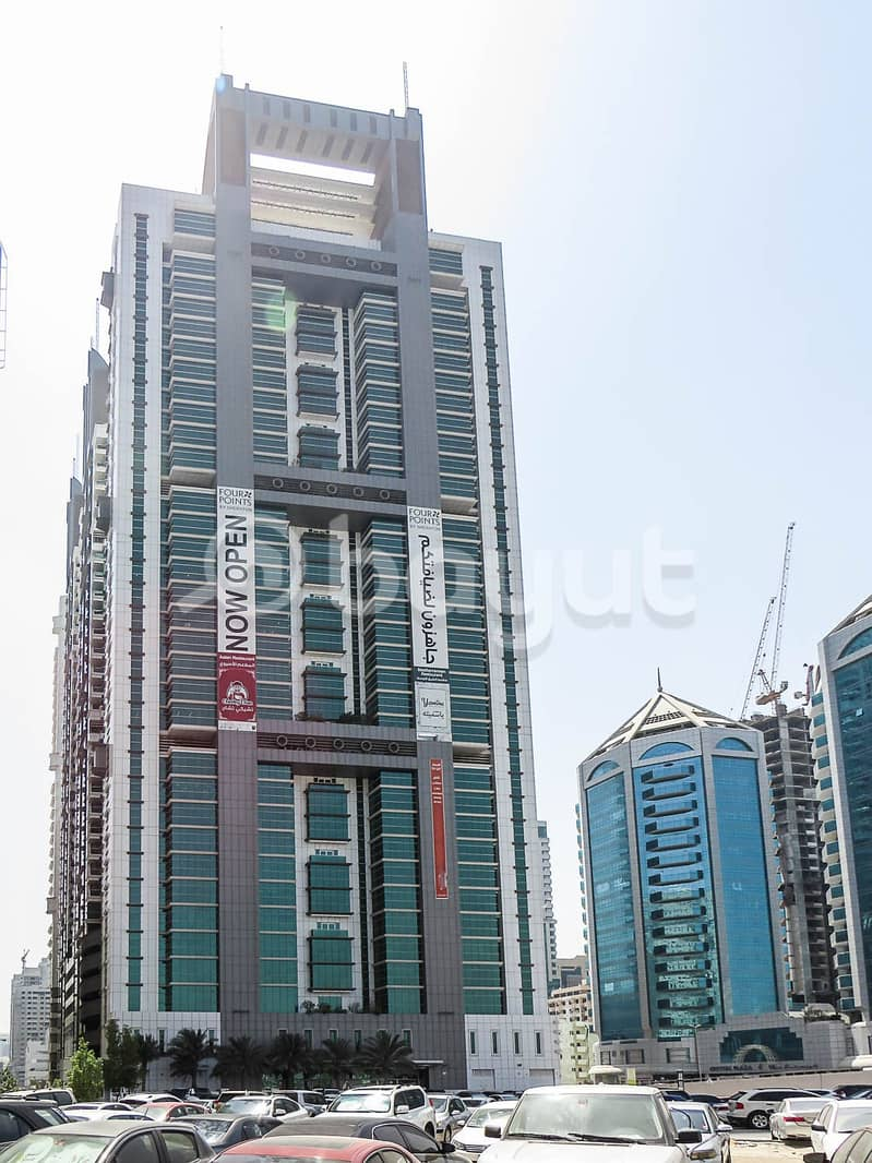 Great deal ! premium office with large plot size, in the center of sharjah