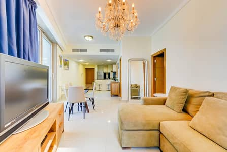 2 Bedroom Flat for Rent in Dubai Marina, Dubai - 2 Bedroom/Chiller Free/Furnished/ Ready To Move
