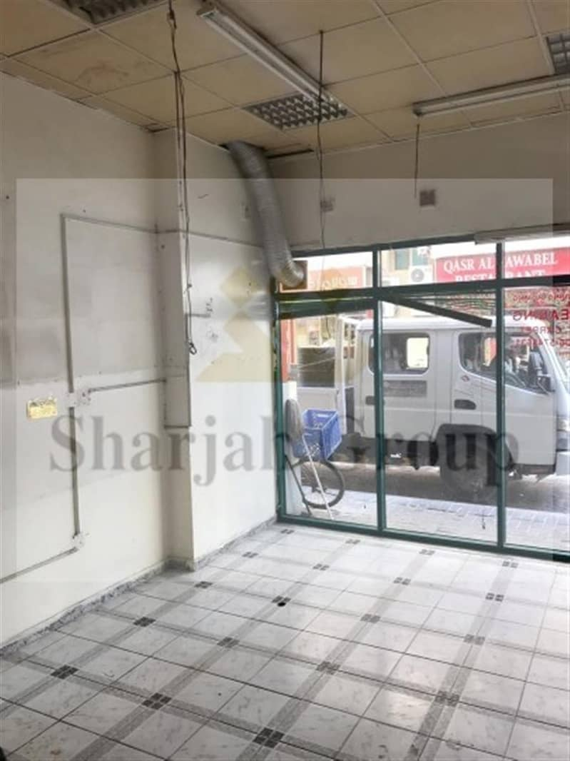 1 Huge Shop in Al Qasimiyah For Lease @ 30K only!