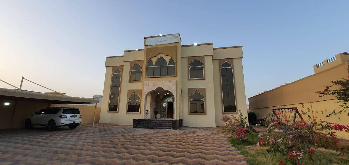 Offer Fully Furnished 5-Bedroom Villa for Sale luxury and good finishing |5 master rooms |  close to all services | in Ajman