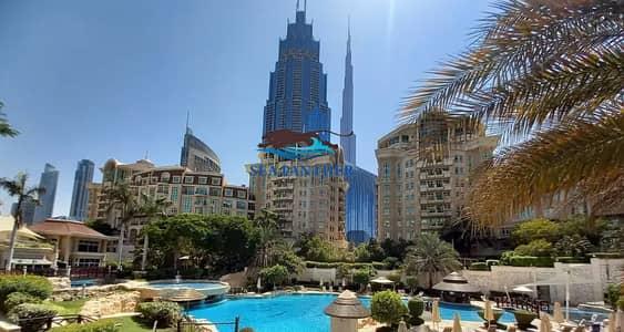 فلیٹ 2 غرفة نوم للايجار في وسط مدينة دبي، دبي - No Agency Fees   2 BR   2 Month Free Rent I Chiller Free