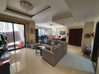 3 Bedroom Flat for Rent in Dubai Marina, Dubai - Furnished 3 Bedrooms Apartment in Murjan 1