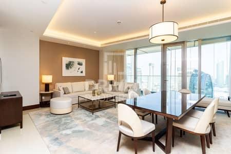 شقة 2 غرفة نوم للايجار في وسط مدينة دبي، دبي - Fully Furnished and Spacious 2 Bedroom Apt