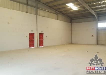 Warehouse for Rent in New Industrial City, Ajman - New warehouse for rent in Sannaiya, Ajman